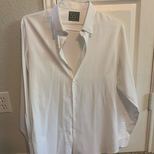 Perry Ellis White Button Up Shirt